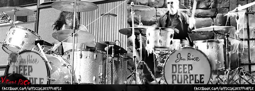 Ian Paice Silver Sparkle Ludwig now and then